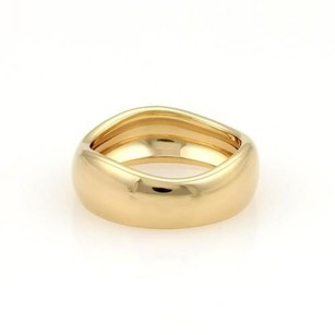 Cartier Cartier 18k Yellow Gold Eternity 6.5mm Wide Wave Band Ring