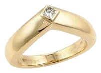Cartier Cartier Triandos Princess Cut Diamond Ring In 18k Yellow Gold-size Us 5