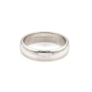 Cartier Tiffany Co. Platinum 6mm Wide Dome Wedding Band Ring