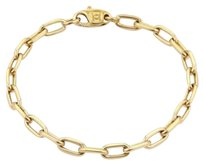 Cartier Cartier Spartacus 18k Yellow Gold Oval Chain Link Bracelet 6.75 Long
