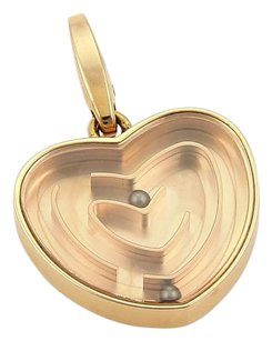 Cartier Cartier Labyrinth Heart Charm In 18k Rose Gold - Rare