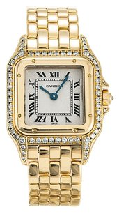 Cartier CARTIER PANTHERE YELLOW GOLD CUSTOM DIAMOND LADIES WATCH