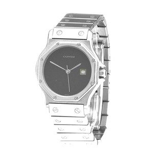 Cartier Cartier Santos Octagonal 31mm Full size Stainless Steel Ladies Watch