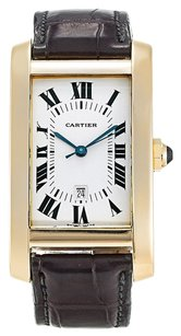 Cartier CARTIER TANK AMERICAINE W2609756 YELLOW GOLD MEN'S WATCH