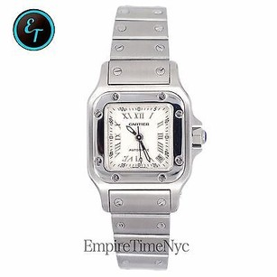 Cartier Cartier W20044d6 Santos Galbee Ladies Stainless Steel Date Automatic Watch