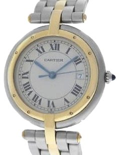 Cartier Cartier 18kt Steel Gold Panthere Round Max066089