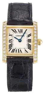 Cartier CARTIER TANK FRANCAISE WE100131 GOLD ORIGINAL DIAMOND LADIES WATCH