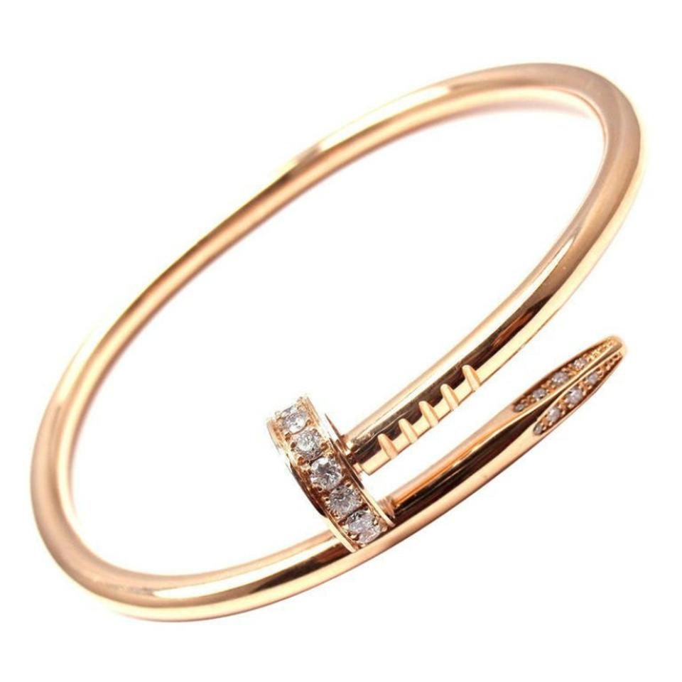 fine gold cm just products clou juste cartier bracelet diamond un