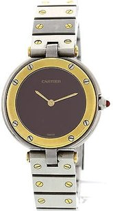 Cartier Ladies Carier Santos De Cartier Stainless Steel Watch