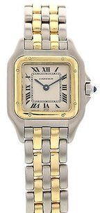Cartier Ladies Cartier Panthere 18k Yellow Gold Ss