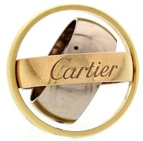 Cartier Ladies Cartier Trinity 18k Gold Rolling Ring