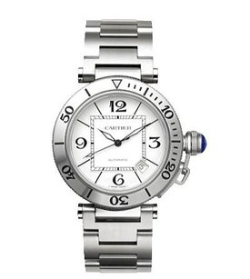 Cartier Pasha Dr Cartier Stainless Steel Watch W31080M7