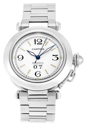 Cartier CARTIER PASHA W31044M7 STAINLESS STEEL MEN'S WATCH