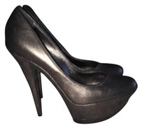 Casadei Wedding Black bronze Platforms