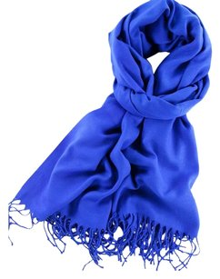 Cashmere Scarf Royal Blue Cashmere Wool Scarf