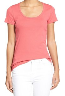 Caslon 100% Cotton Cn271691mi Top Red