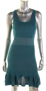 Catherine Malandrino short dress Teal on Tradesy
