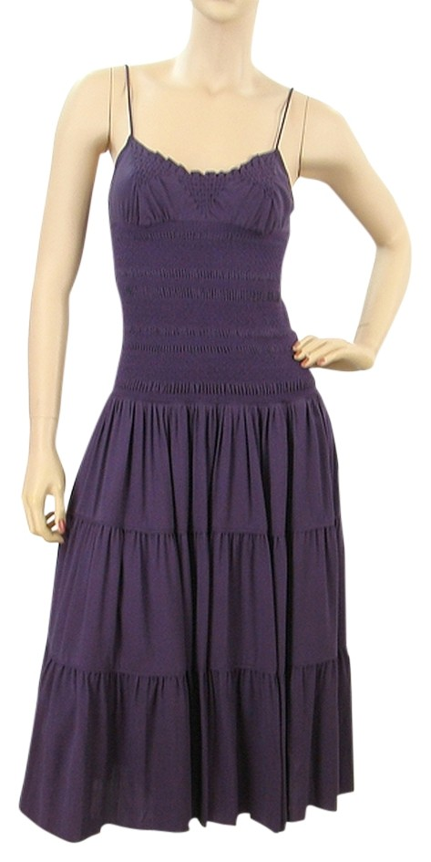 Purple Tiered Dress Review