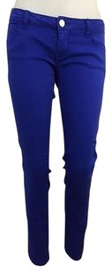 Celebrity Pink Royal Blue Skinny Jeans