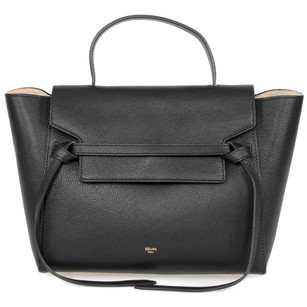 Céline Belt Grained Medium Shoulder Bag