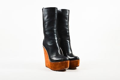 discount browse many kinds of cheap online Céline Suede Mid-Calf Boots clearance 2014 unisex largest supplier sale 100% original h270s4