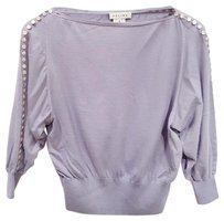 Cline Cashmere Boat Neck Cropped Sweater