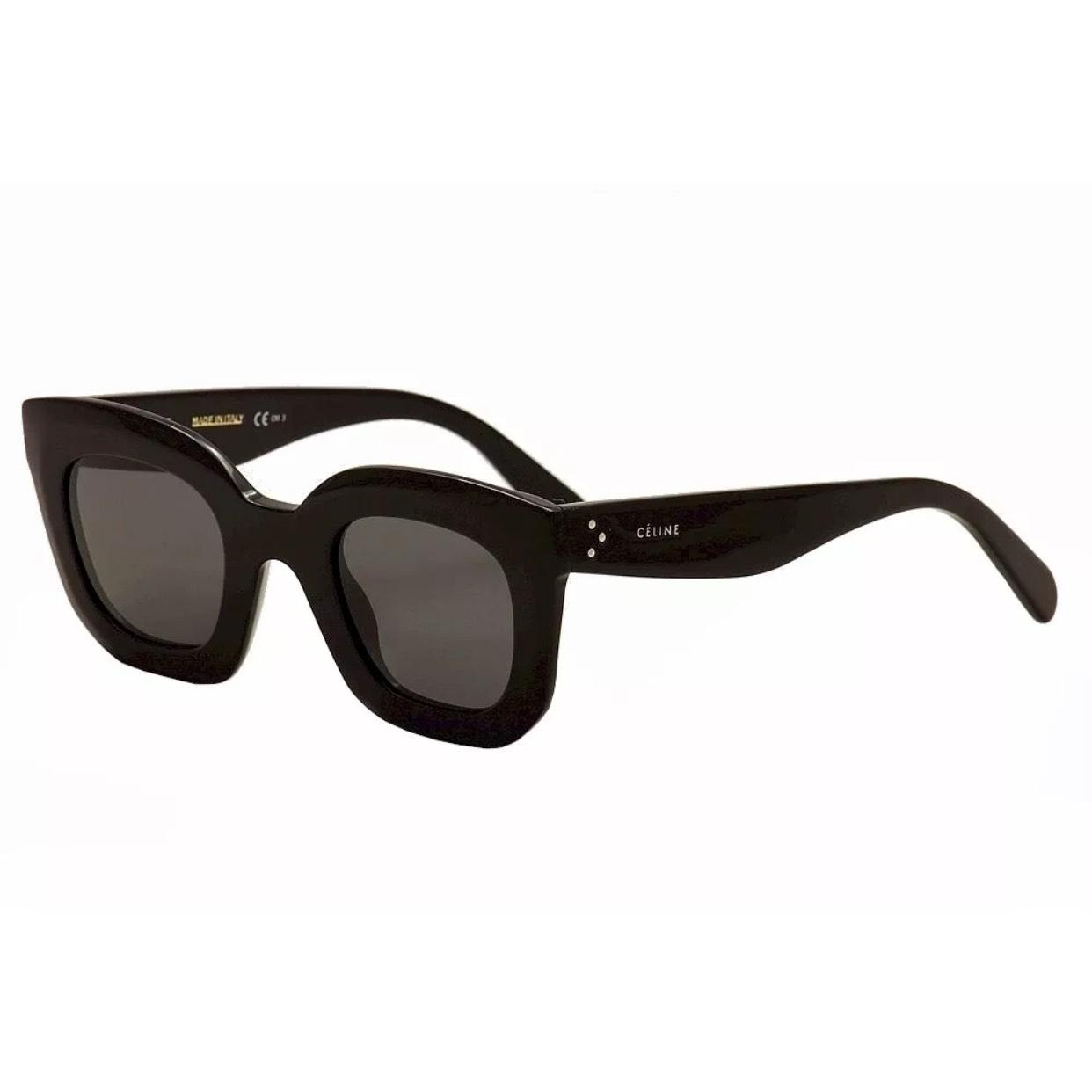 bffab804156 Amazon.com  Celine 41805 S Sunglasses-0807 Black (HA Brown ...