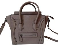 Céline Nano Nano Leather Luggage Shoulder Bag