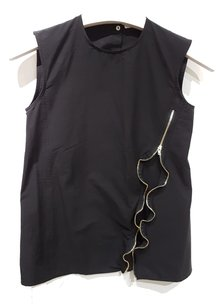 Cline Evening Party Sleeveless Top Black