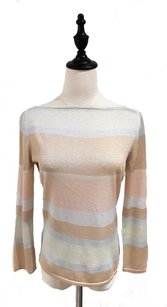 Cline Metallic Shimmer Light Knit Sweater