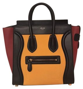 Céline Satchel in Multicolor