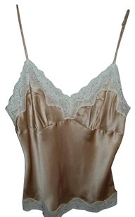 Central Park West Luxury Sexy Romantic Exclusive Vintage Top beige