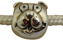 Chamilia Chamilia Retired Sterling Silver Puppy Dog Head Bead Charm Gb-8