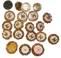 Chanel 17 AUTHENTIC Chanel Buttons