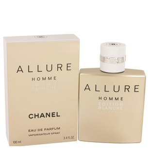 Chanel Allure Homme Blanche Edition by Chanel Eau De Parfum Spray 3.4 oz