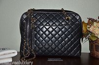 Chanel Shoppers Tote in Black