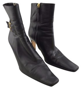 Chanel Soft Leather Black Boots