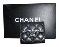 Chanel Authentic Black Chanel Wallet