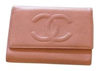 Chanel Authentic Chanel. Pink Leather Wallet Good And Clean Condition