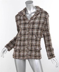 Chanel 05a Womens Brownblack Jacket