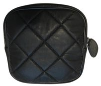 Chanel Chanel Black Classic Quilted Small Pouch Case