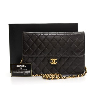 Chanel Black Quilted Shoulder Bag