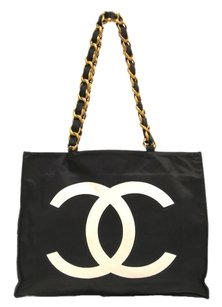 Chanel Canvas Shoulder Bag