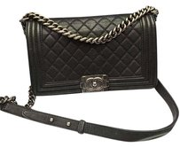 Chanel Caviar Boy Shoulder Bag
