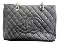 Chanel Caviar Skin Black Shoulder Bag