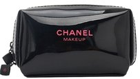 chanel Chanel Black Cosmetic bag