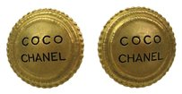 Chanel Chanel COCO Clip Earrings