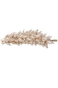 Chanel Chanel Gold-tone Crystal Wheat Hair Pin