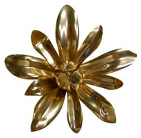 Chanel Chanel Gold Tone flower broach pin vintage