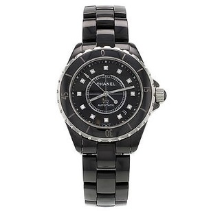 Chanel Chanel J12 H1626 Automatic Diamond Dial Ceramic Womens Watch